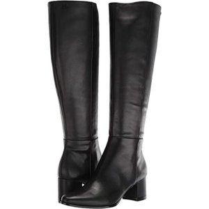 Calvin Klein Freeda Knee High leather Boot NEW 6
